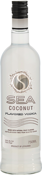 sea vodka coconut